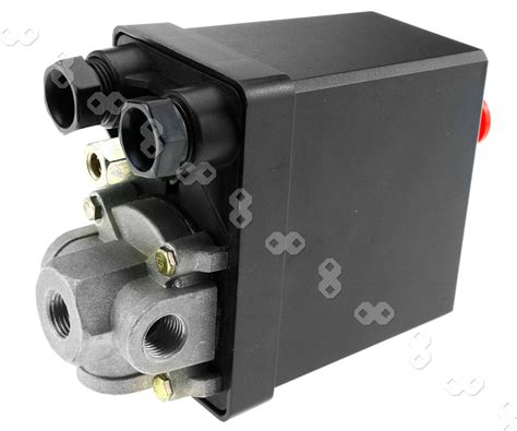 three phase air compressor pressure switch with blanking plugs safety value ebay