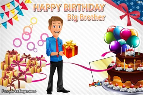 Big Happy Birthday Wishes Happy Birthday Wishes Big Brother