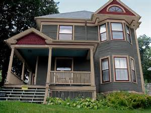 New victorian exterior paint colors and corrected color placement