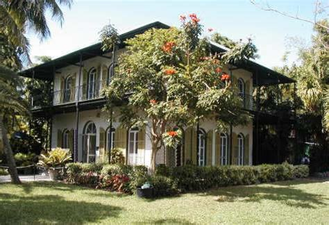 hemingway house key west landmark pictures from key west florida