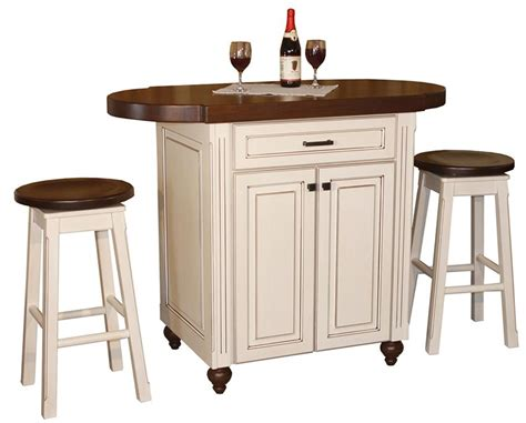 Island Kitchen Stools Amish Heritage Pub Kitchen Island With Stools