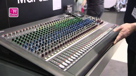 Mixing Console Mgp32x musikmesse 2013 yamaha mgp24x en mgp32x mixing consoles