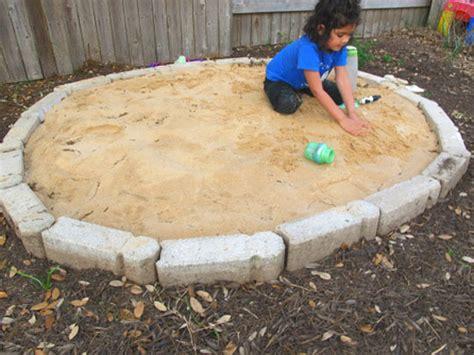 Sandbox For Backyard by Outdoor Play A 50 Diy Sandbox Apartment Therapy