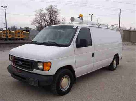 how cars work for dummies 2003 ford e series parental controls sell used 2003 ford e150 cargo van bins and selves 1 owner in macomb illinois united states