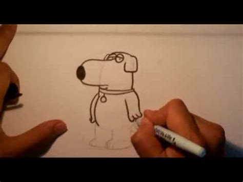 how to draw something easy boys how to draw brian from family guy easy things to draw