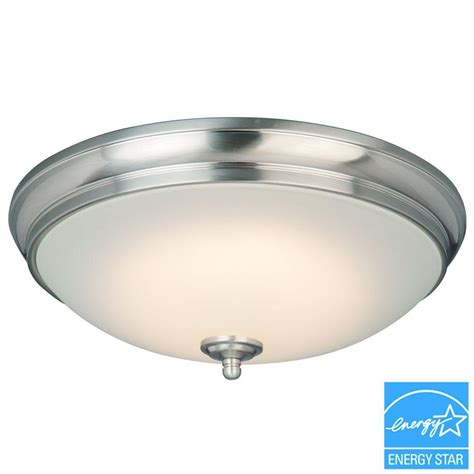 Commercial Electric Lighting Fixtures Ean 6940500315744 Commercial Electric Ceiling Mounted Lighting 120 Light Brushed Nickel Led