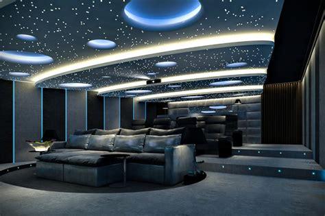 Home Cinema Moderno by Moderno Cine En Casa