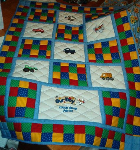 Baby Quilt Patterns For Boy by Baby Quilts Our Boy Baby Quilt Quilting Children