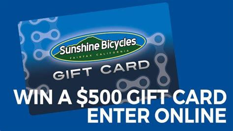 Triangle Town Center Gift Card - 500 gift card winner sunshine bicycle center