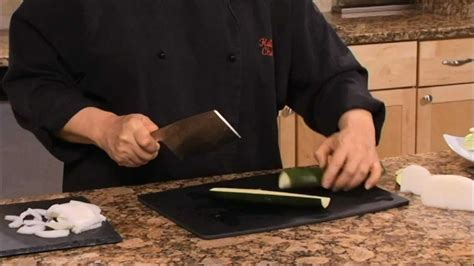 asian kitchen knives helen chen episode 1 chef s knife demo helen s asian kitchen with bigkitchen
