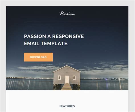 25 free html5 email website templates