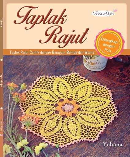 Tas Rajut Dengan Behel buku taplak rajut crafts