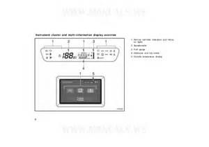 Brake System Warning Light Prius Toyota Prius Owners Manual 2001