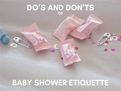 Etiquette On Baby Showers by Do S And Don Ts Of Baby Shower Etiquette Babyprepping