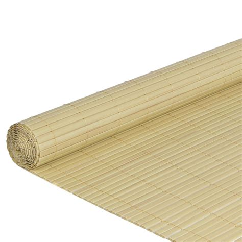 bamboo awning pvc privacy blind fence panel windbreak awning privacy