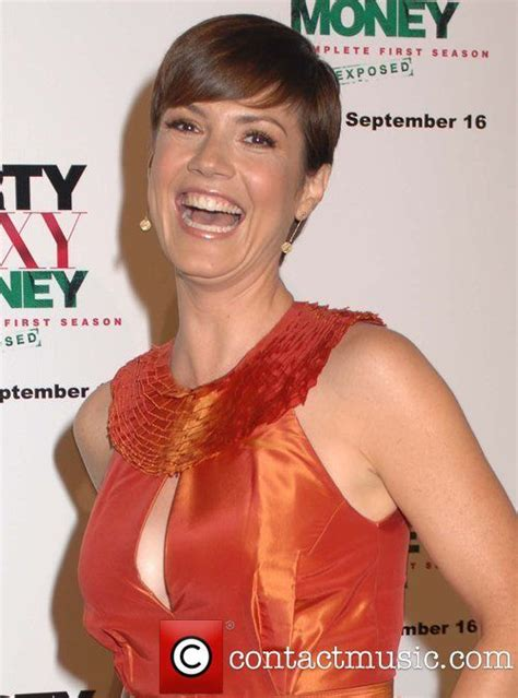 zoe mclellan haircut dirty sexy money complete first season dvd launch event