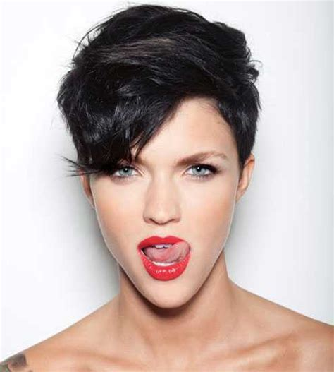 ruby hairstyles hottest ruby rose short hairstyles