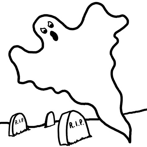 Free Printable Ghost Coloring Pages For Kids Ghost Color Page