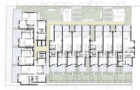 podium floor plan bankstown apartments redshift archinect