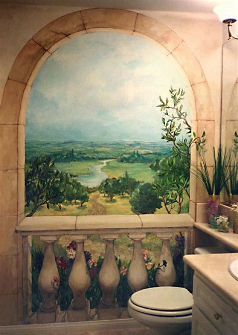 Trompe L Oeil Mural 2363 by 17 Best Ideas About Garden Mural On Painted