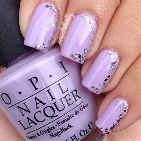 delicada cute nails lilac nails purple nail