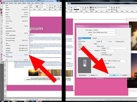 how to layout a brochure in indesign how to create a brochure using indesign with pictures