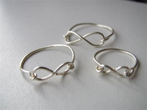 diy rings jewelry diy infinity ring things i want to make