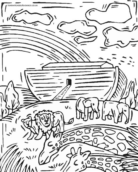 Noahs Ark Coloring Pages Free Coloring Pages Of Noahs Ark by Noahs Ark Coloring Pages