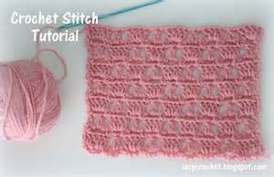 Lacy crochet crochet stitch tutorial