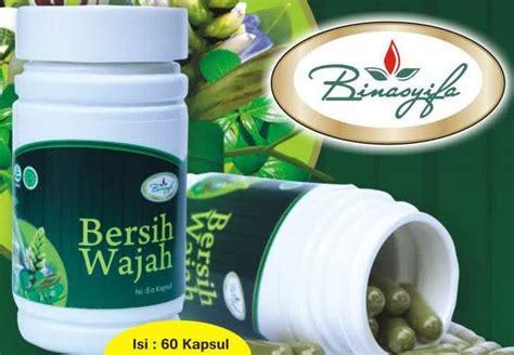 Herbal Bersih Wajah Kapsul Bersih Wajah Binasyifa Ardhina Herbal