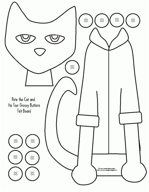 coloring page pete the cat pete the cat coloring page coloring home
