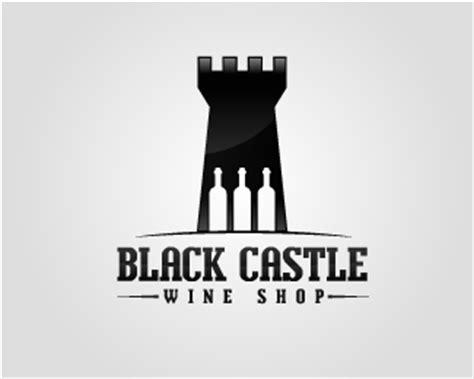 black castle wine shop designed  kreafit brandcrowd