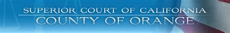 Superior Court Of California Search The Superior Court Of California County Of Orange