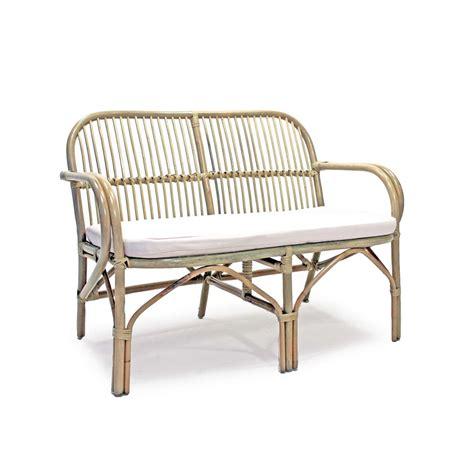 divani per giardino in rattan divanetto in rattan da giardino con cuscino eco brigros