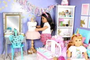 American Doll Bedroom by American Doll Unicorn Bedroom American Ideas