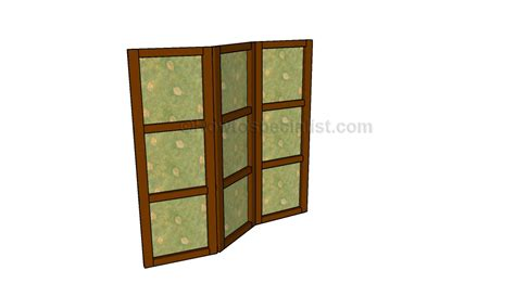 how to make a room divider how to build a room divider howtospecialist how to build step by step diy plans