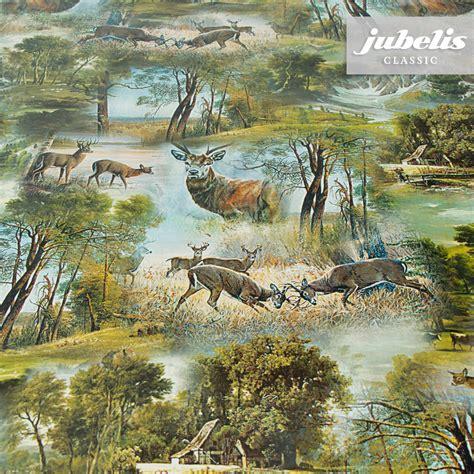 tischdecken mit jagdmotiven jubelis 174 wachstuch hirsche p