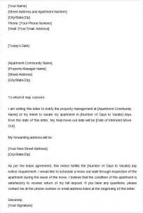 intent to vacate letter template two weeks notice letter 12 free documents in word