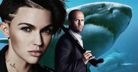 nieuwe film jason statham ruby rose joins jason statham in giant shark thriller meg