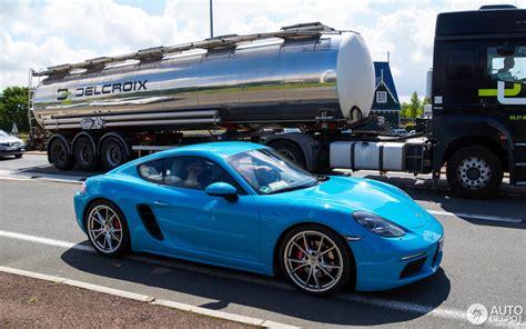 0 100 Porsche Cayman S by Porsche 718 Cayman S 20 Juin 2016 Autogespot