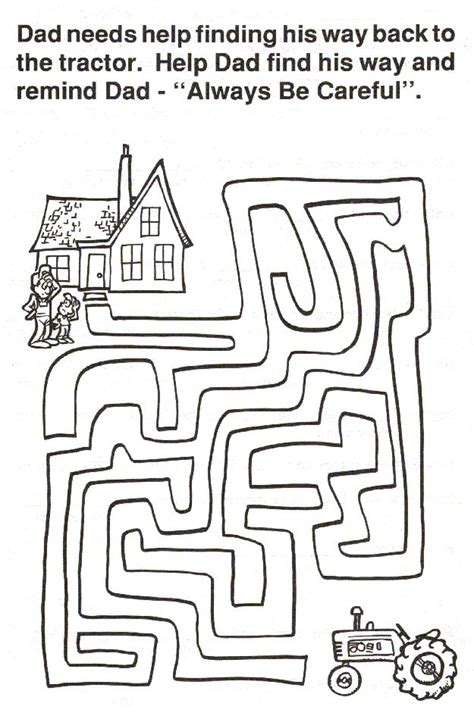 printable tractor mazes 200 best images about john deere tractor printables on