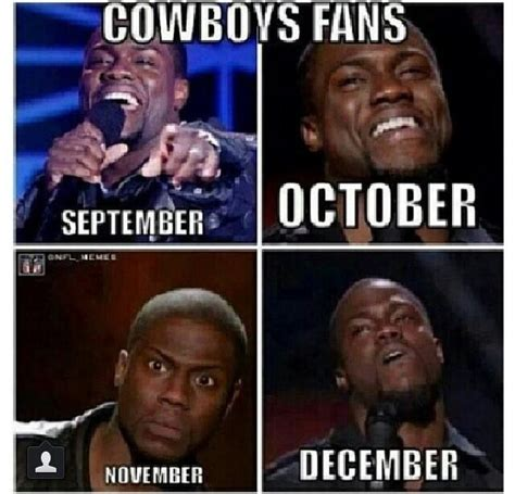 Kevin Hart Cowboys Meme - the gallery for gt cowboys fans be like