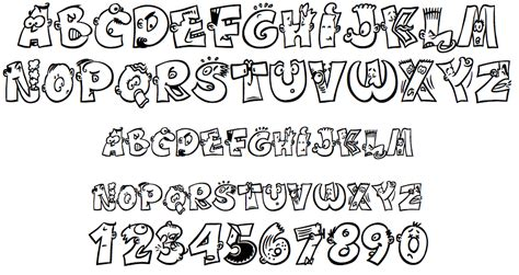 imagenes goticas con letras tipos de letras divertidas actiludis
