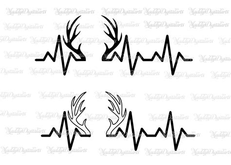Deer Heartbeat heartbeat drawing at getdrawings free for personal