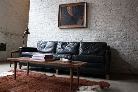 industrial style couch leather sofas for all uber chic to mega comfortable