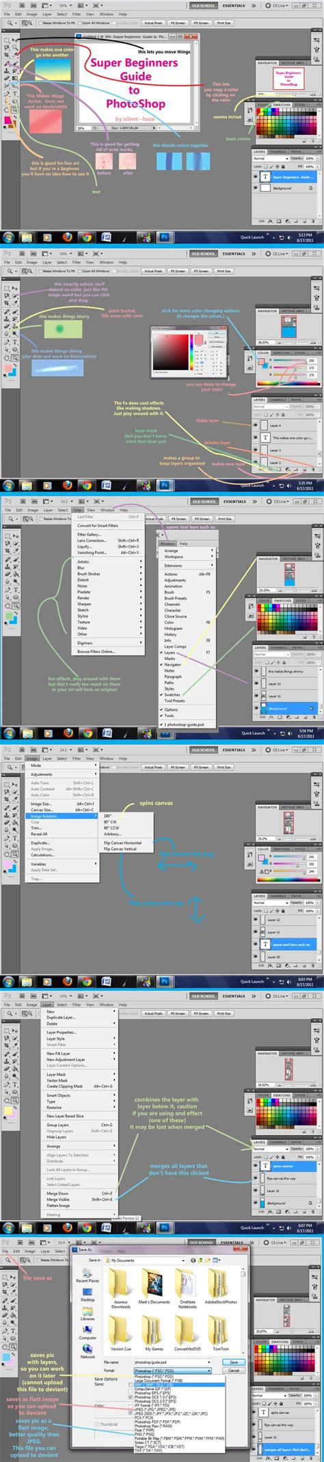 tutorial photoshop untuk beginner beginners guide to photoshop by silent haze on