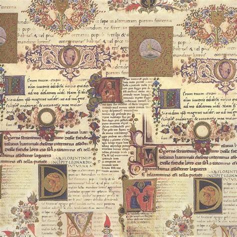 Italian Decoupage Paper - illuminated manuscript italian backing paper kartos