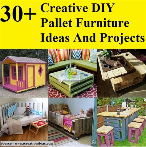 30 creative diy pallet furniture ideas and projects