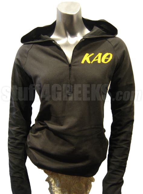 Letter Of Recommendation Kappa Alpha Theta kappa alpha theta half zip pullover hoodie with letters