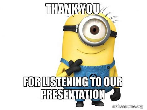 thank you letter to for listening thank you for listening to our presentation thoughtful